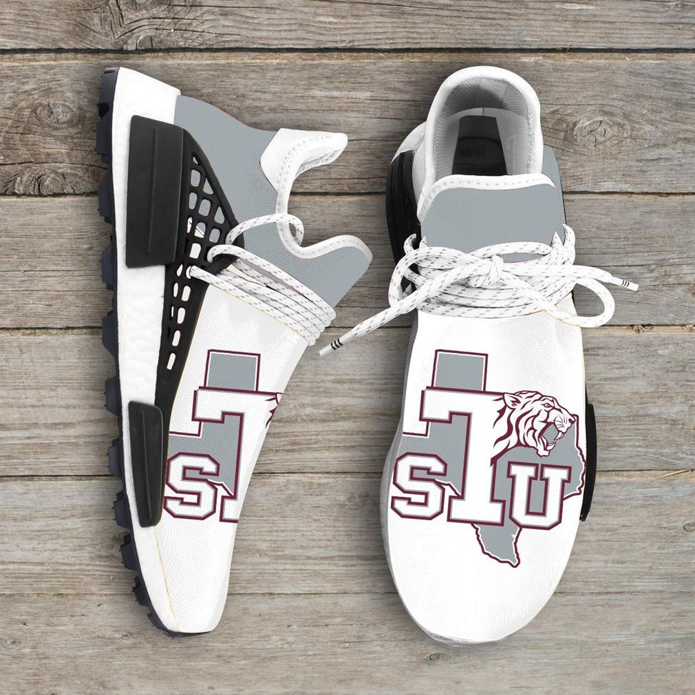 Texas Southern Tigers Ncaa Nmd Human Race Sneakers Sport Shoes Running Shoes