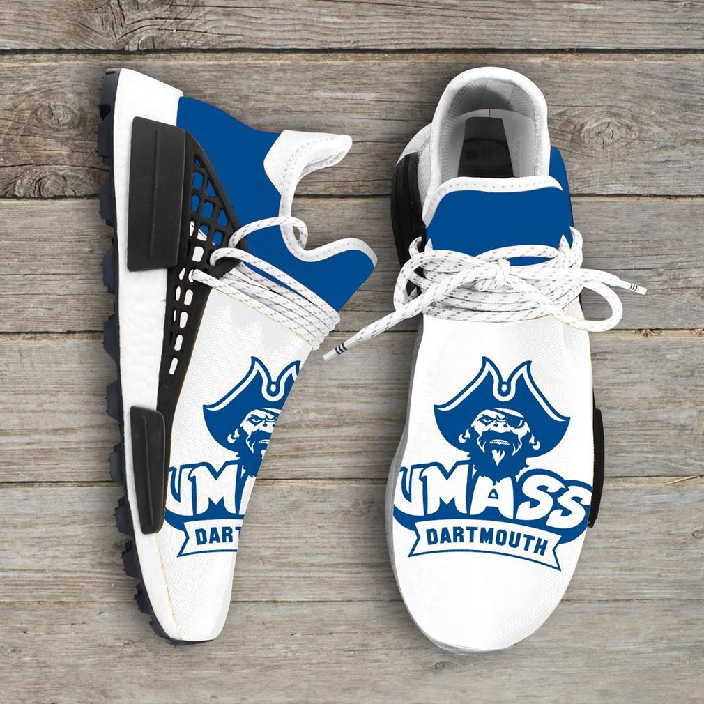 Umass Dartmouth Corsairs Ncaa Nmd Human Race Sneakers Sport Shoes Running Shoes