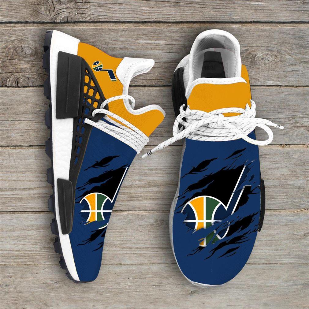 Utah Jazz Mlb Nmd Human Race Sneakers Shoes Sport Shoes Vip