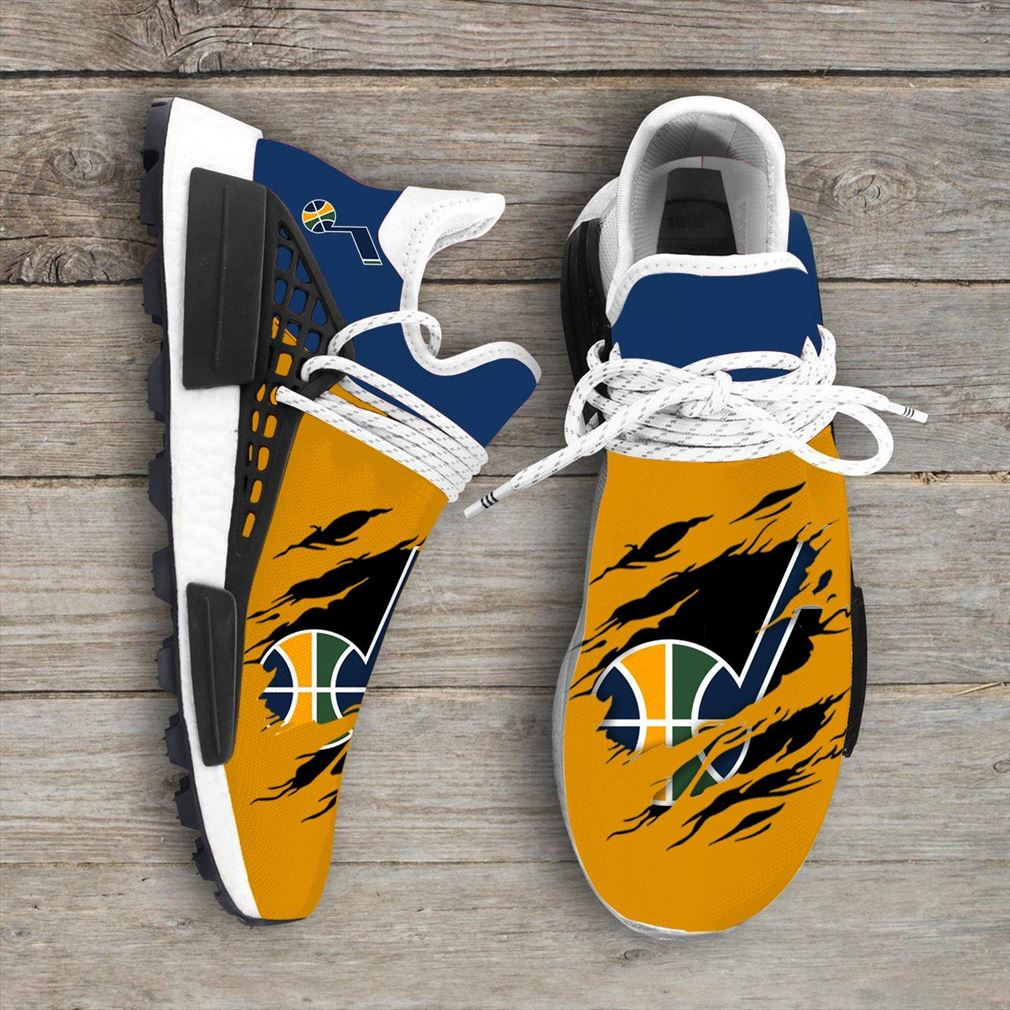 Utah Jazz Mlb Nmd Human Race Sneakers Shoes Sport Shoes