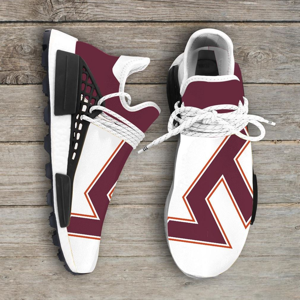 Virginia Tech Hokies Ncaa Nmd Human Race Sneakers Sport Shoes Running Shoes