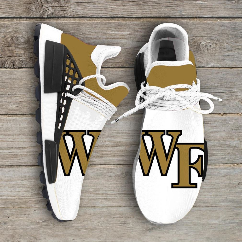Wake Forest Demon Deacons Ncaa Nmd Human Race Sneakers Sport Shoes Running Shoes