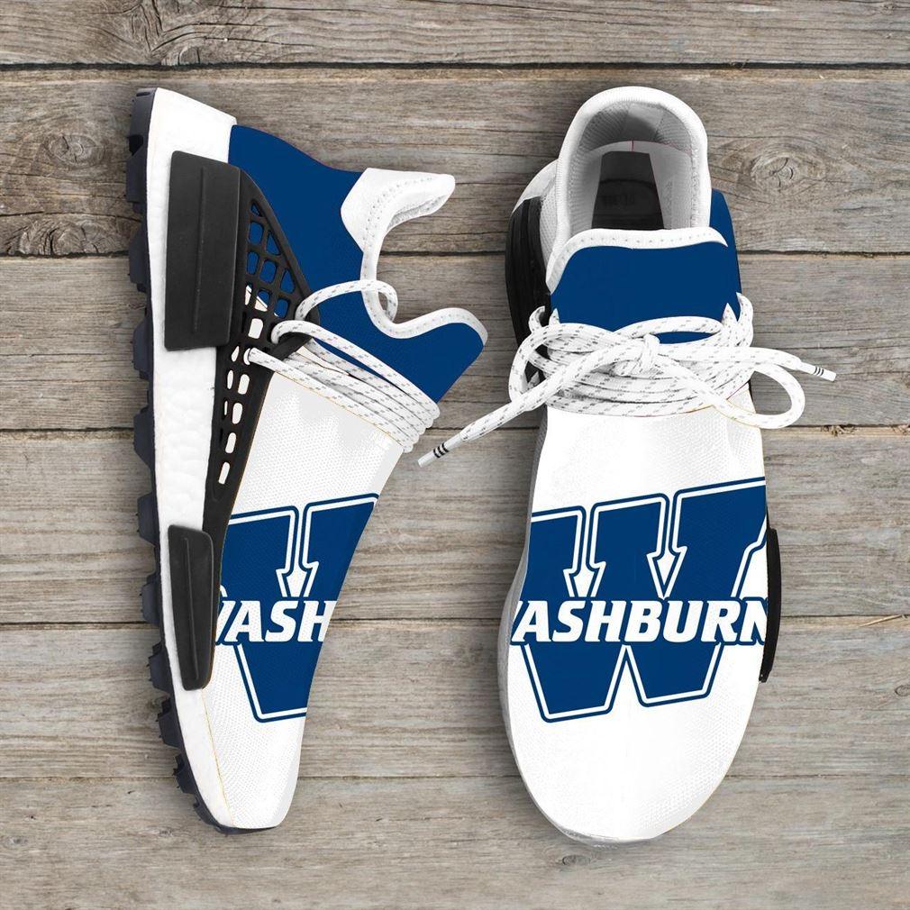 Washburn Ichabods Ncaa Nmd Human Race Sneakers Sport Shoes Running Shoes