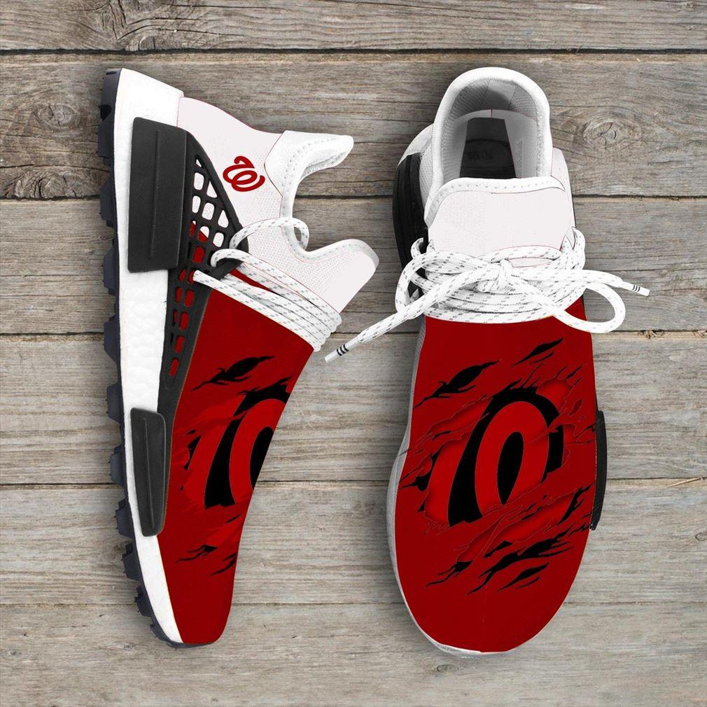 Washington Nationals Mlb Nmd Human Race Sport Shoes