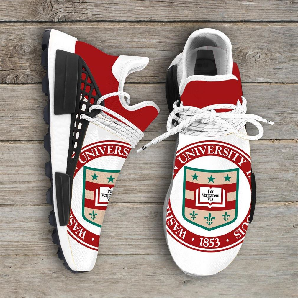 Washington State University Ncaa Nmd Human Race Sneakers Sport Shoes Running Shoes