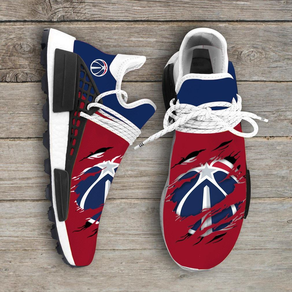 Washington Wizards Mlb Nmd Human Race Sneakers Shoes Sport Shoes