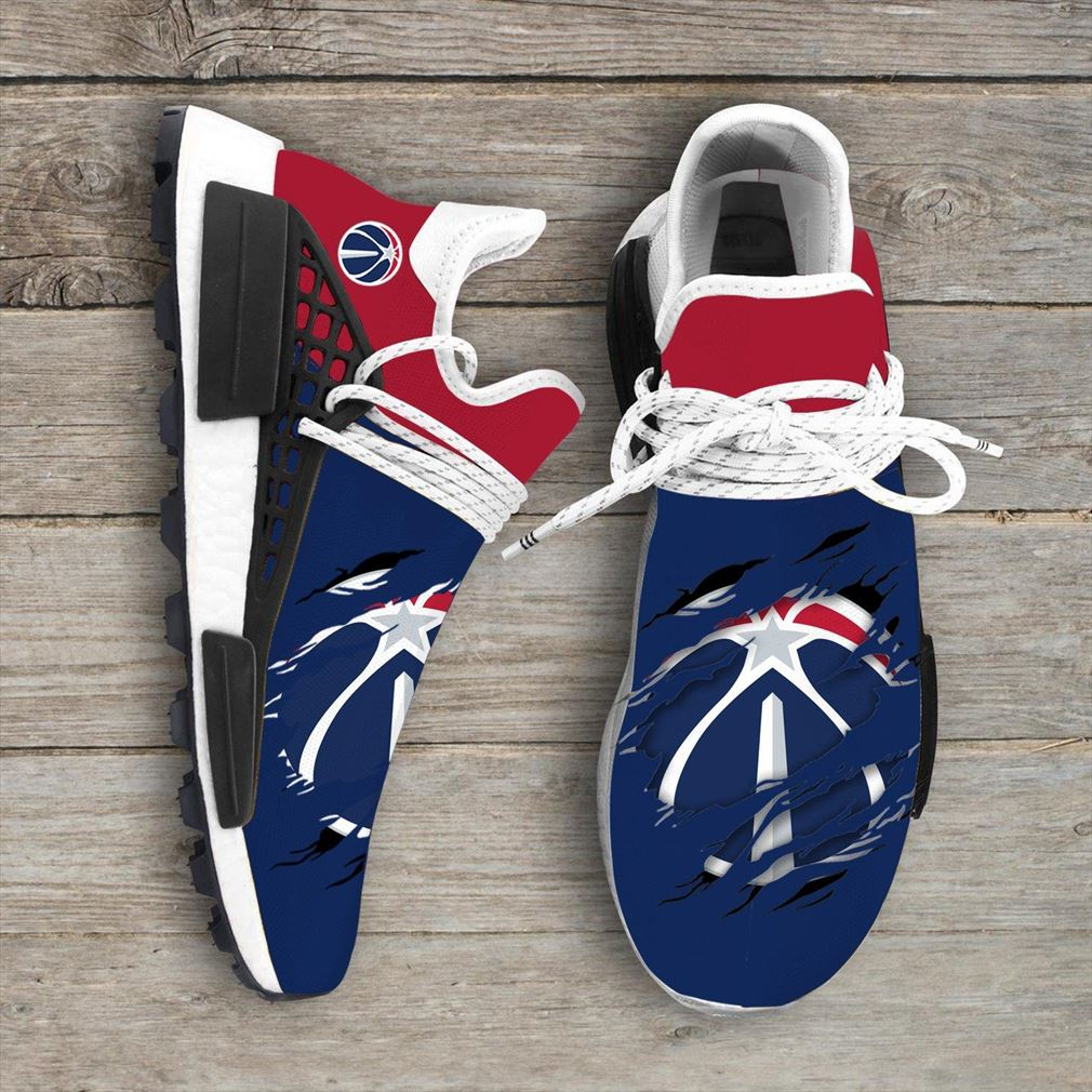 Washington Wizards Mlb Nmd Human Race Sneakers Sport Shoes Running Shoes