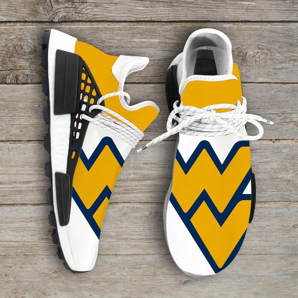 West Virginia Mountaineers Ncaa Nmd Human Race Sneakers Sport Shoes Running Shoes