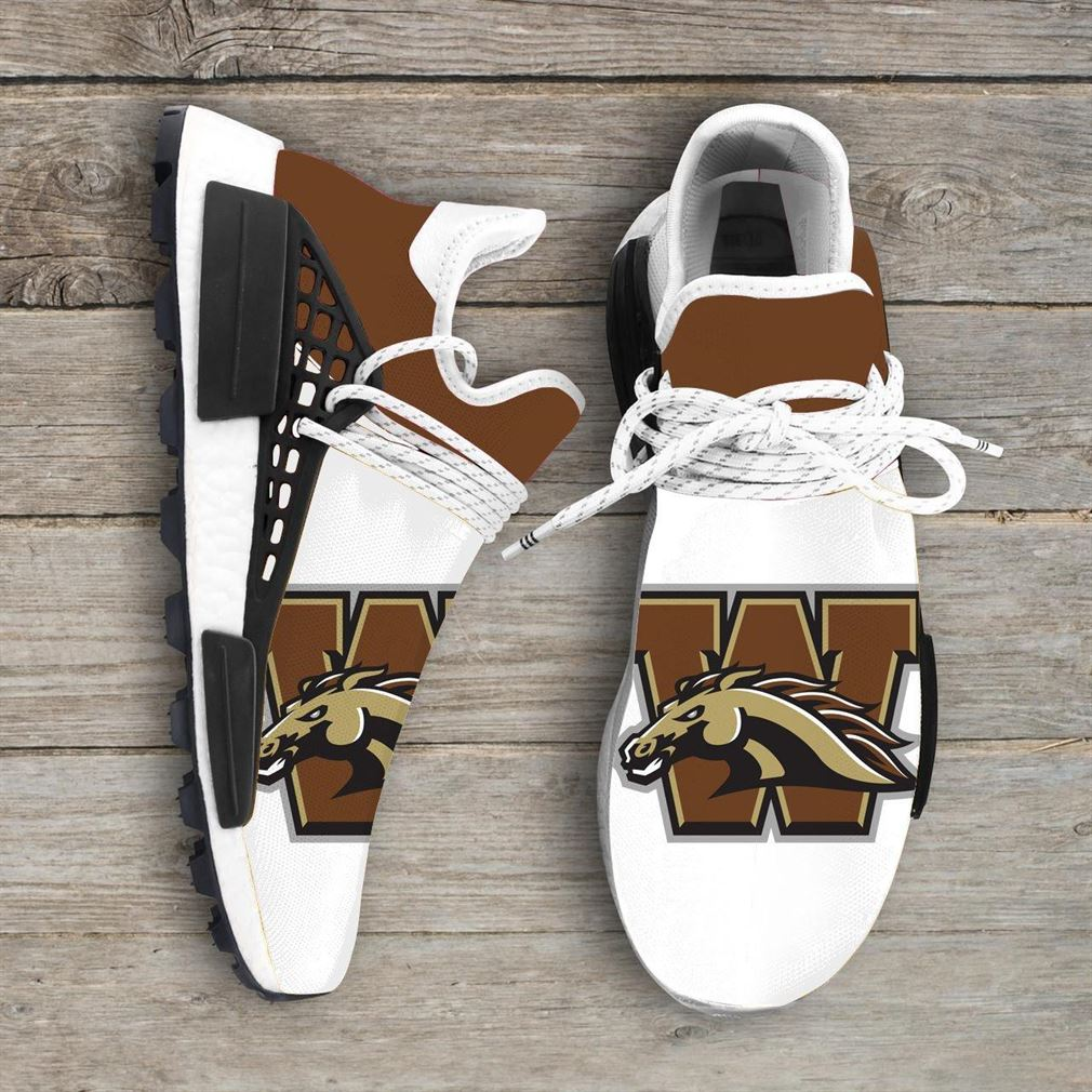 Western Michigan Broncos Ncaa Nmd Human Race Sneakers Sport Shoes Running Shoes