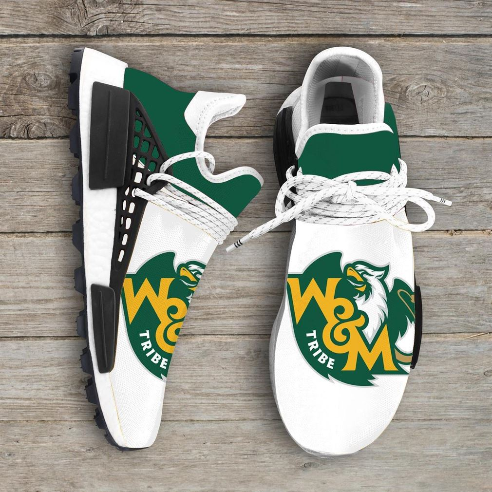 William Mary Tribe Ncaa Nmd Human Race Sneakers Sport Shoes Running Shoes