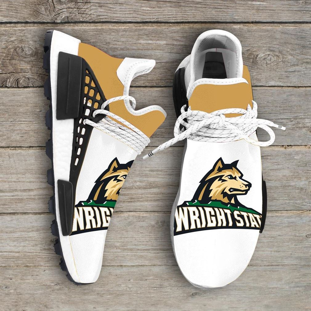 Wright State Raiders Ncaa Nmd Human Race Sneakers Sport Shoes Running Shoes