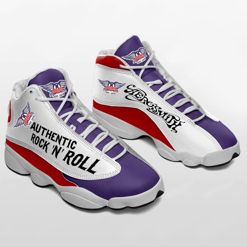 Aerosmith Form Air Jordan 13 Sneakers Rock N Roll Shoes Full Size