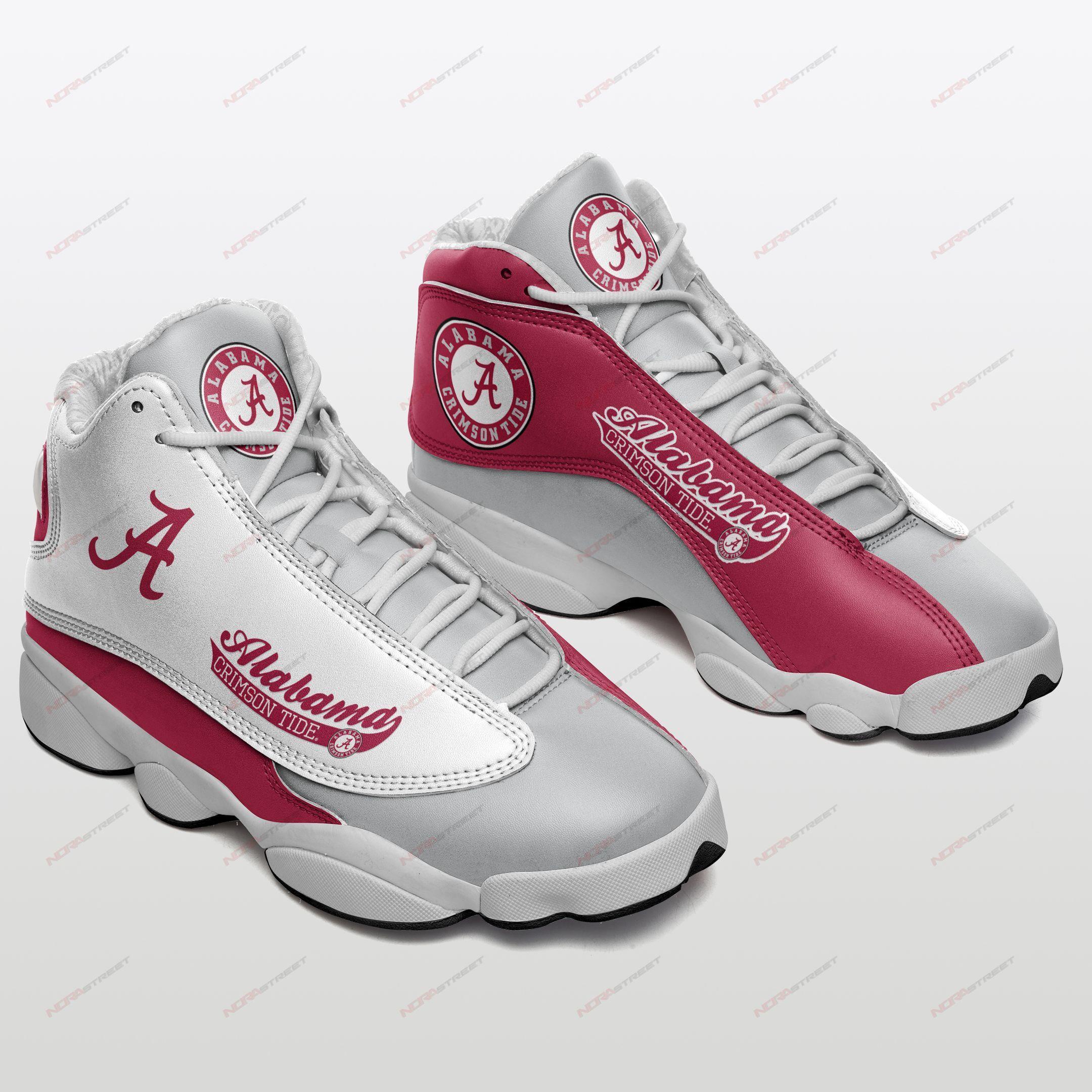 Alabama Crimson Tide Air Jordan 13 Sneakers Sport Shoes Plus Size