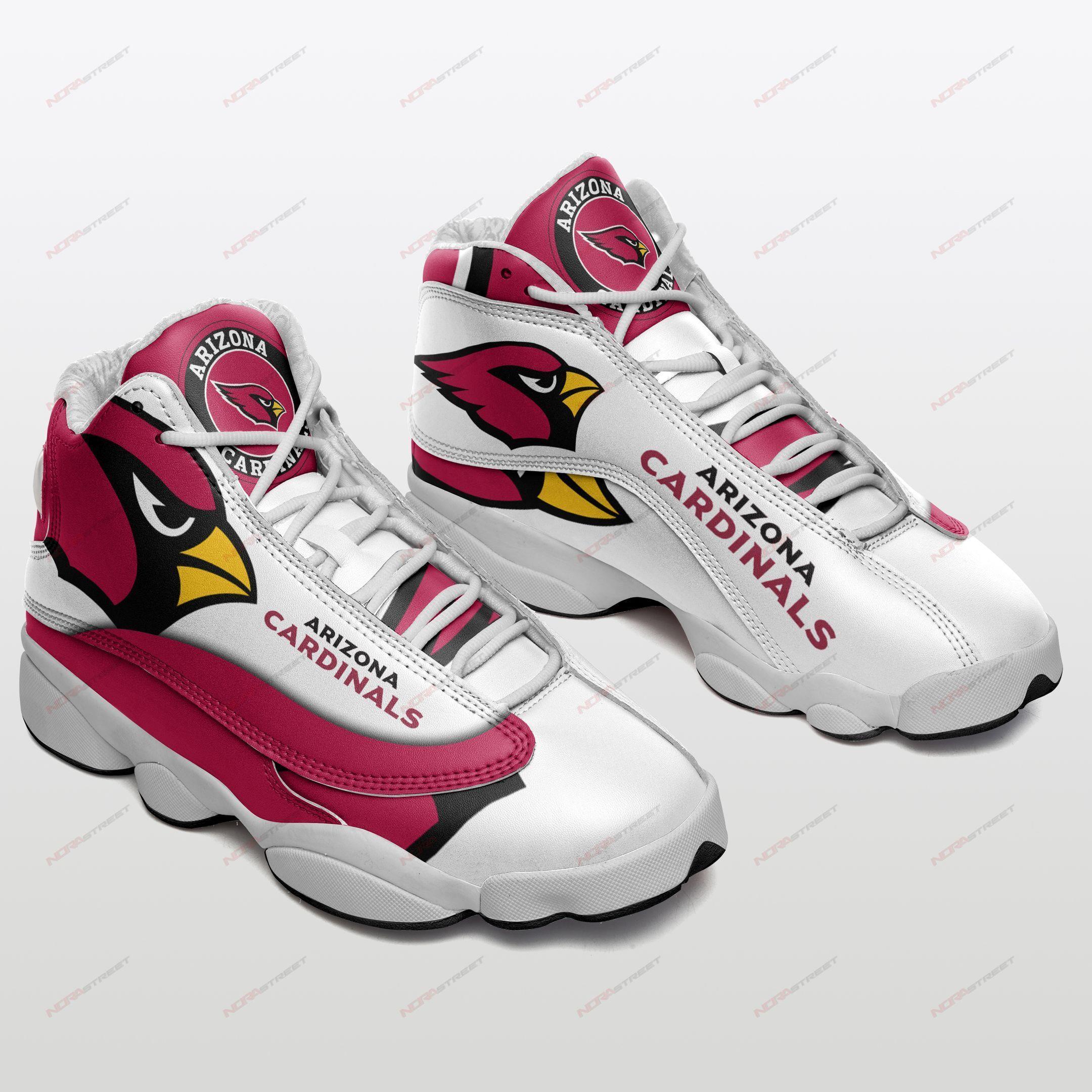 Arizona Cardinals Air Jordan 13 Sneakers Sport Shoes Full Size