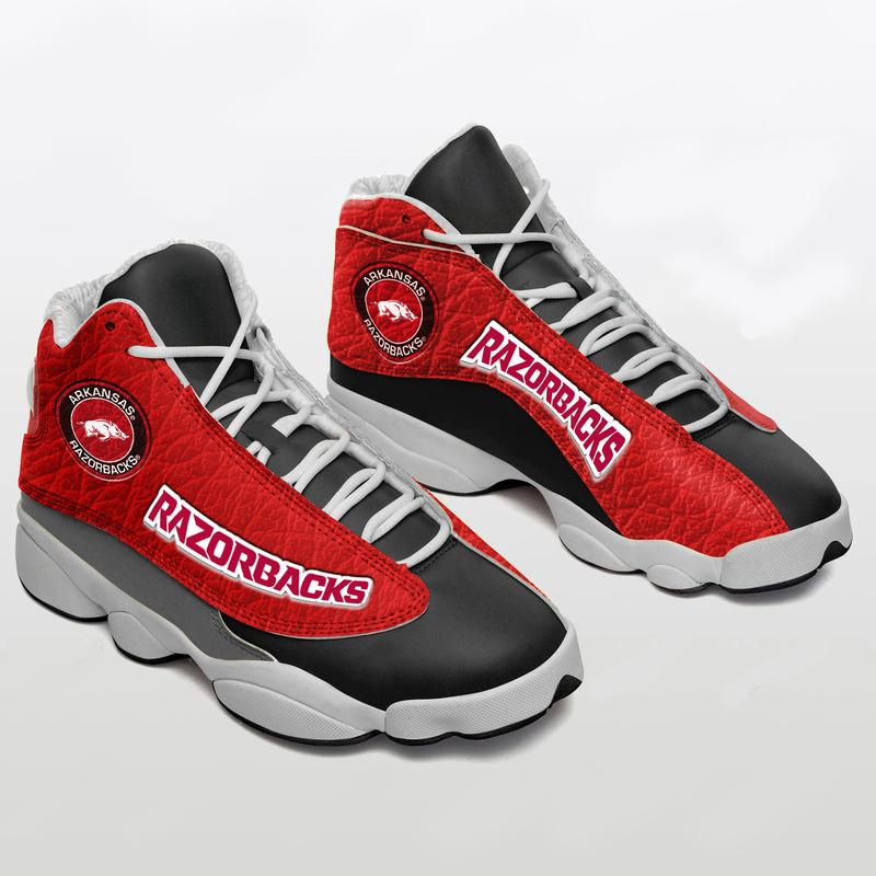 Arkansas Razorbacks Form Air Jordan 13 Sneakers Shoes