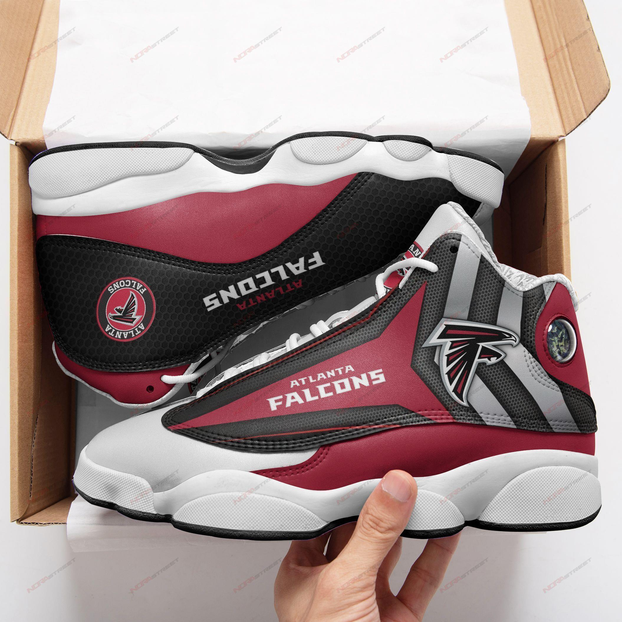 Atlanta Falcons Air Jordan 13 Sneakers Sport Shoes