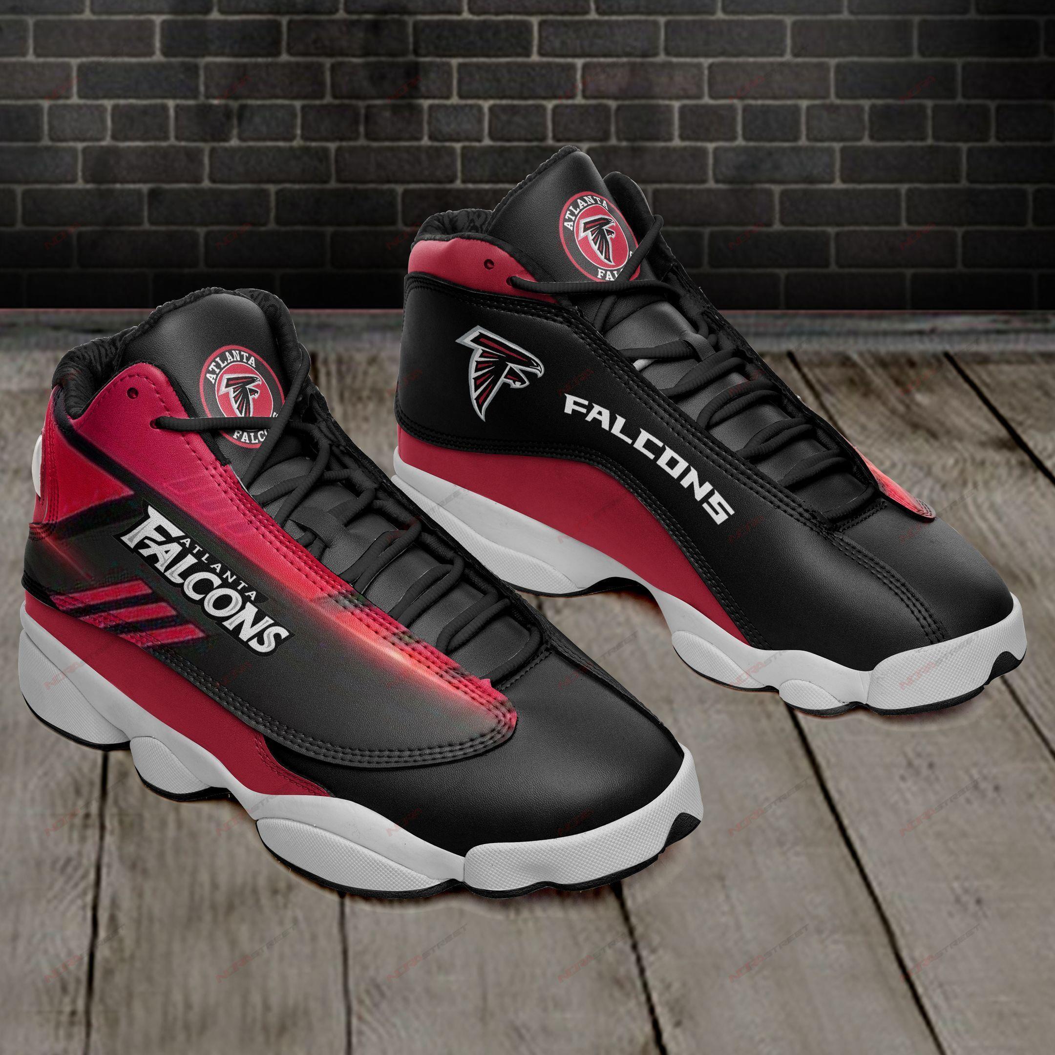 Atlanta Falcons Air Jordan 13 Sneakers Sport Shoes Full Size