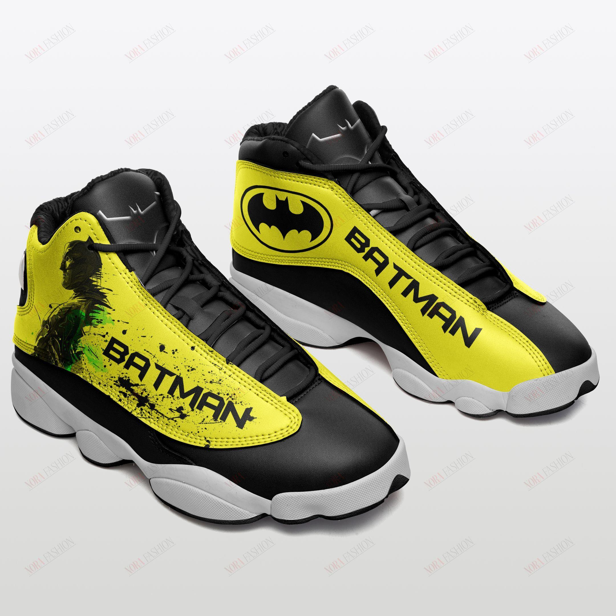 Batman Air Jordan 13 Sneakers Sport Shoes Plus Size