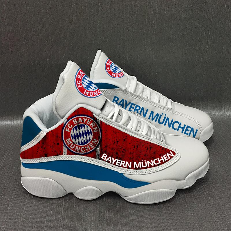 Bayern Munich football Team Form Air Jordan 13 Sneakers Shoes Full Size