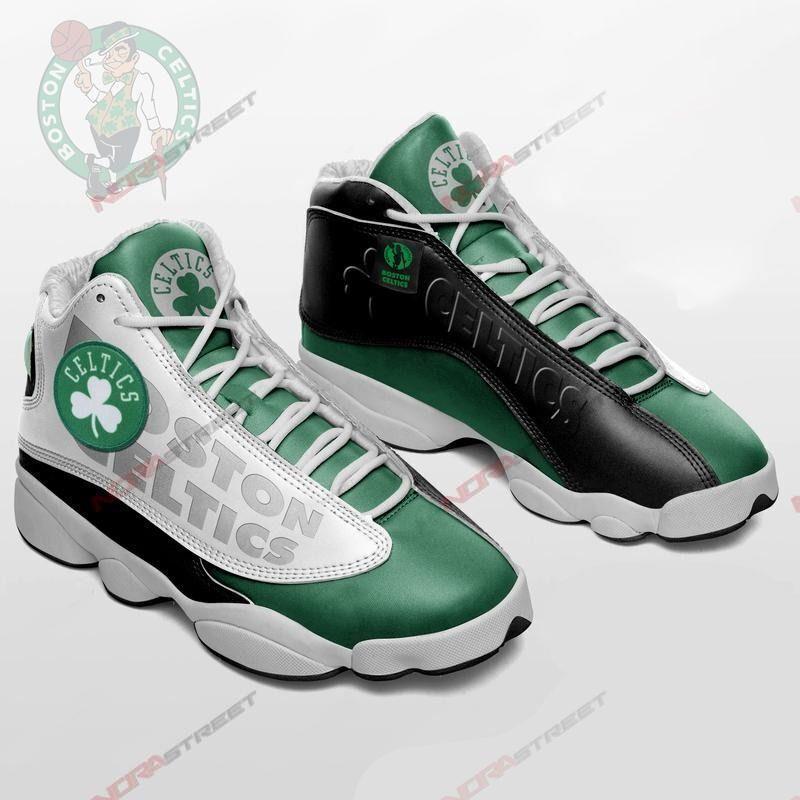 Boston Celtics Air Jordan 13 Sneakers Sport Shoes