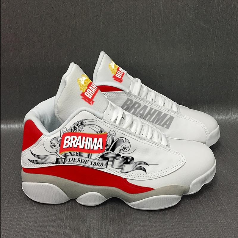 Brahma Beer Form Air Jordan 13 Sneakers Sport Shoes Plus Size