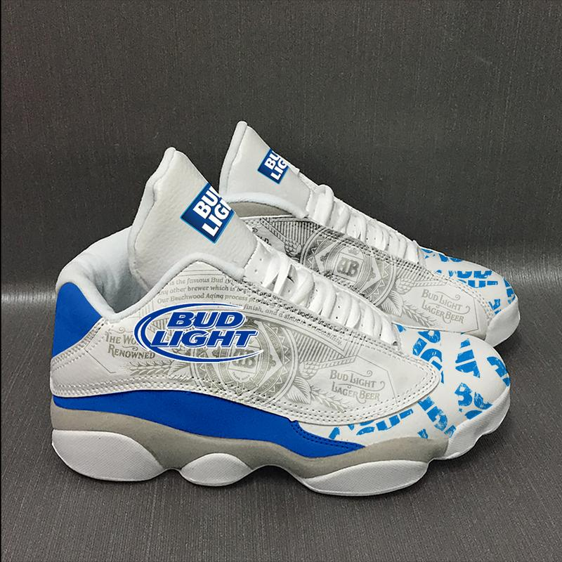 Bud Light Beer Form Air Jordan 13 Sneakers Sport Shoes Plus Size