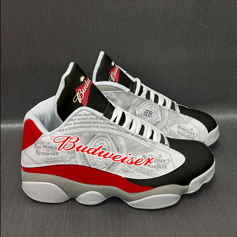 Budweiser Beer 2 Form Air Jordan 13 Sneakers Sport Shoes Plus Size