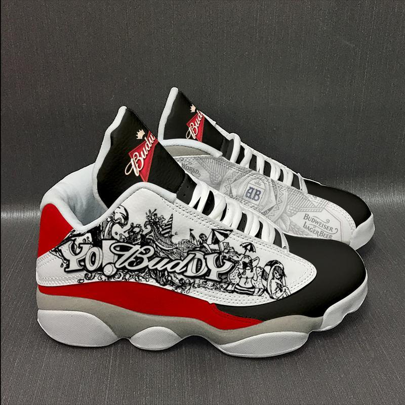 Budweiser Beer Form Air Jordan 13 Sneakers Sport Shoes Full Size