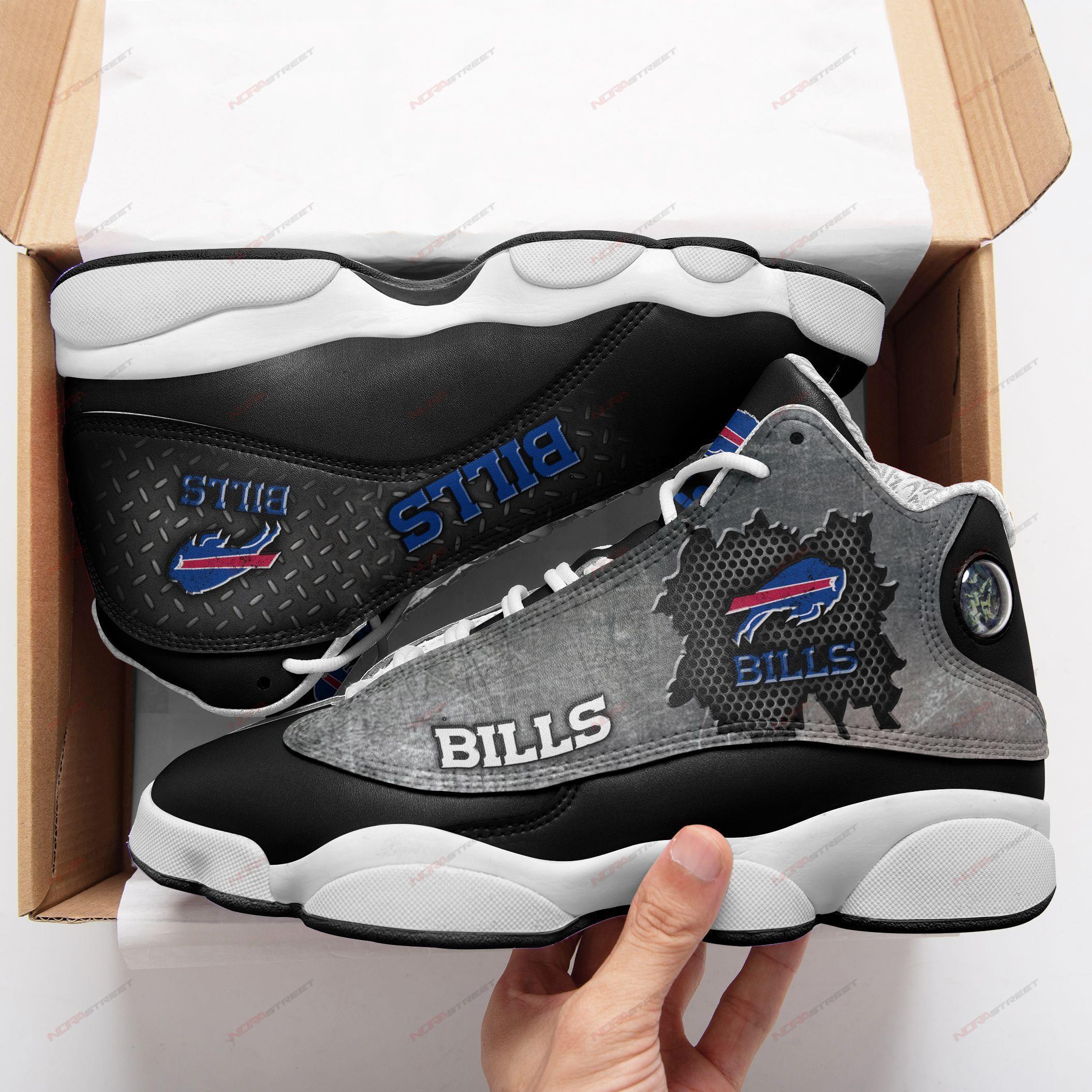 Buffalo Bills Air Jordan 13 Sneakers Sport Shoes