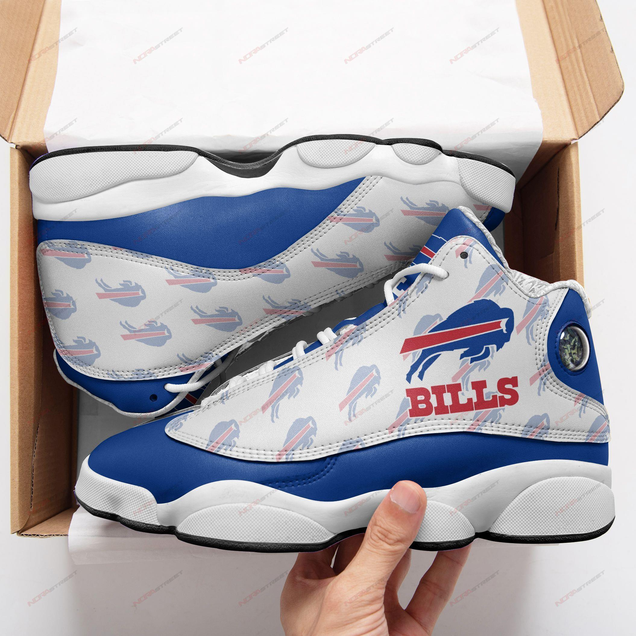 Buffalo Bills Air Jordan 13 Sneakers Sport Shoes Plus Size
