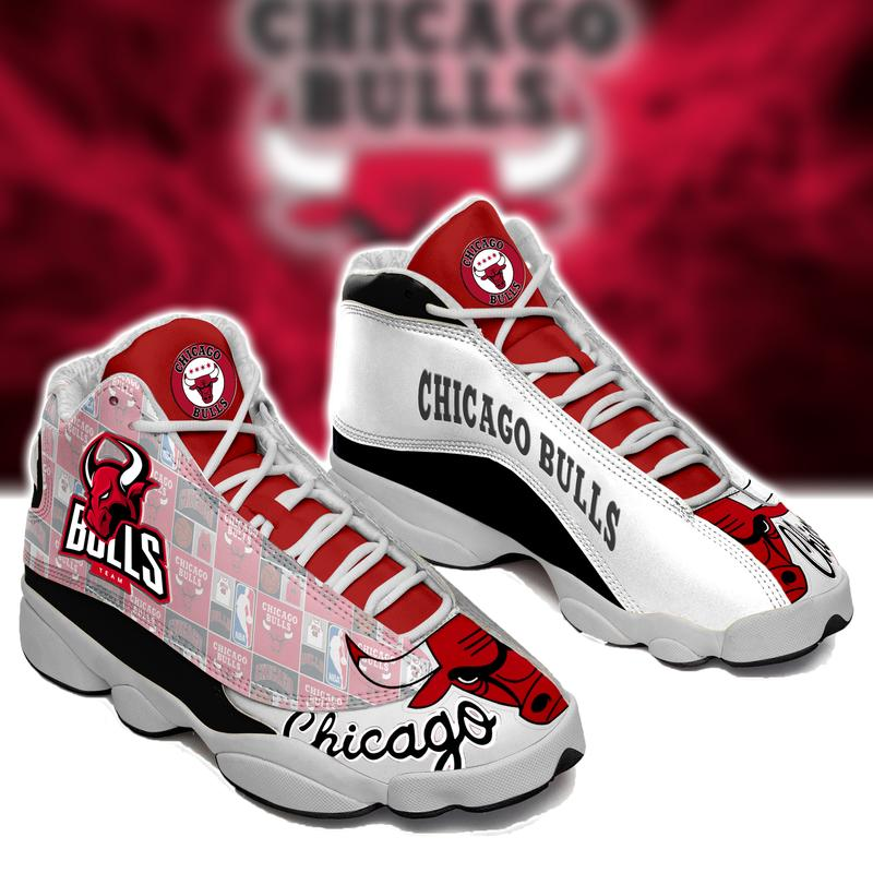 Chicago Bulls Form Air Jordan 13 Basketball Sneakers Sport Shoes Full Size