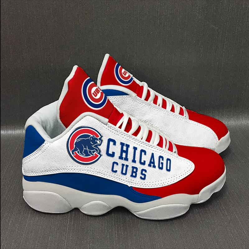 Chicago Cubs Form Air Jordan 13 Baseball Team Sneakers Sport Shoes Plus Size