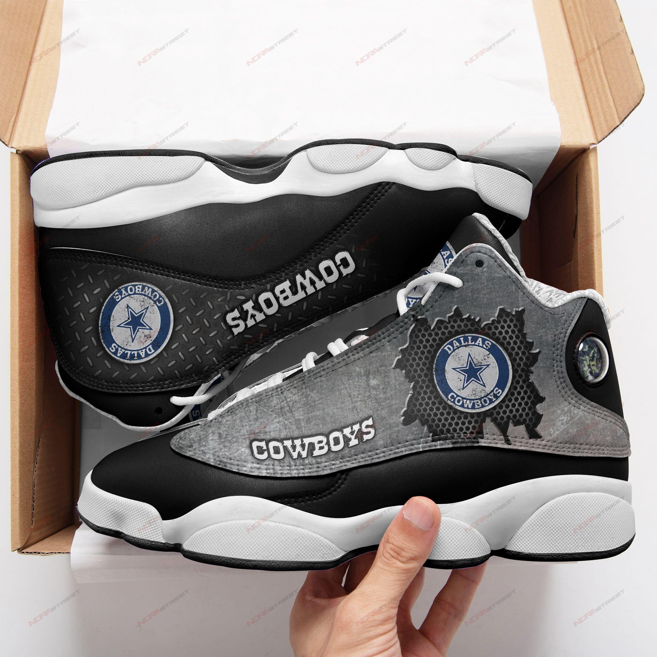 Dallas Cowboys Air Jordan 13 Sneakers Sport Shoes Full Size