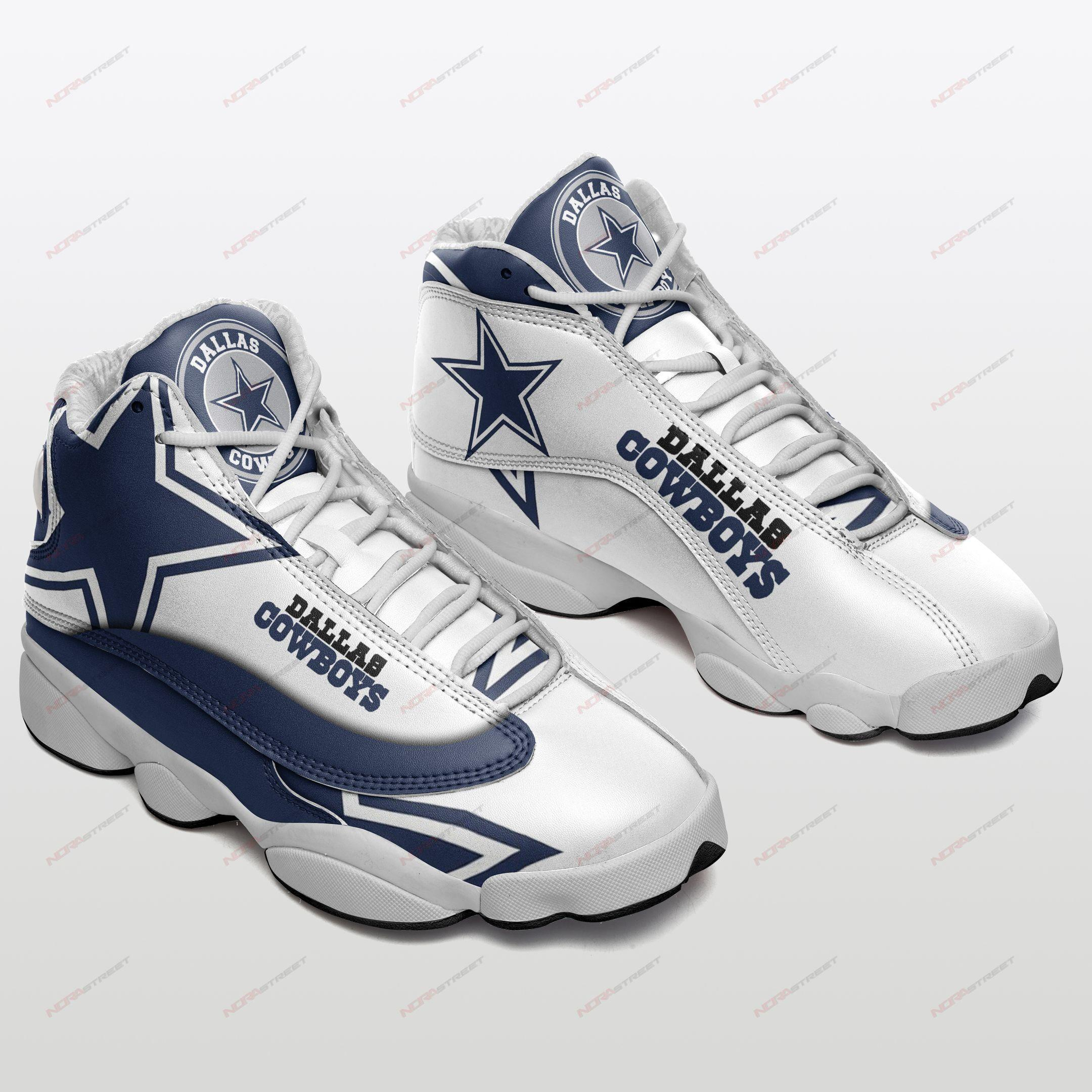Dallas Cowboys Air Jordan 13 Sneakers Sport Shoes