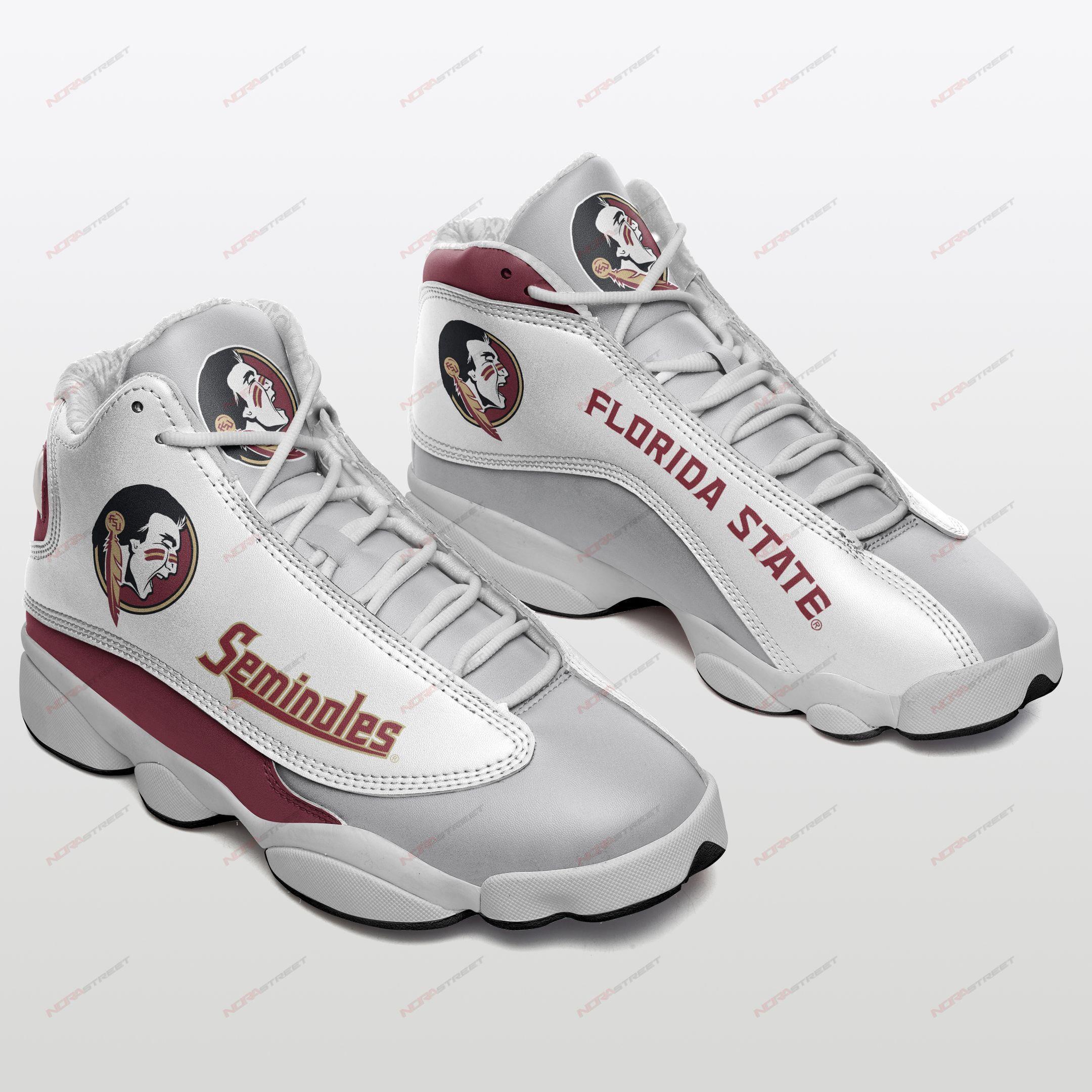 Florida State Seminoles Air Jordan 13 Sneakers Sport Shoes Plus Size