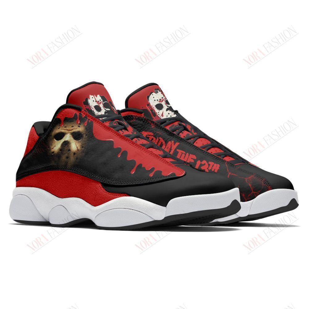 Friday The 13th Air Jordan 13 Sneakers Sport Shoes