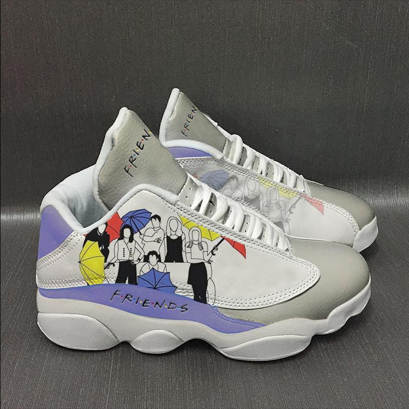 Friends Form Air Jordan 13 Sneakers Plus Size