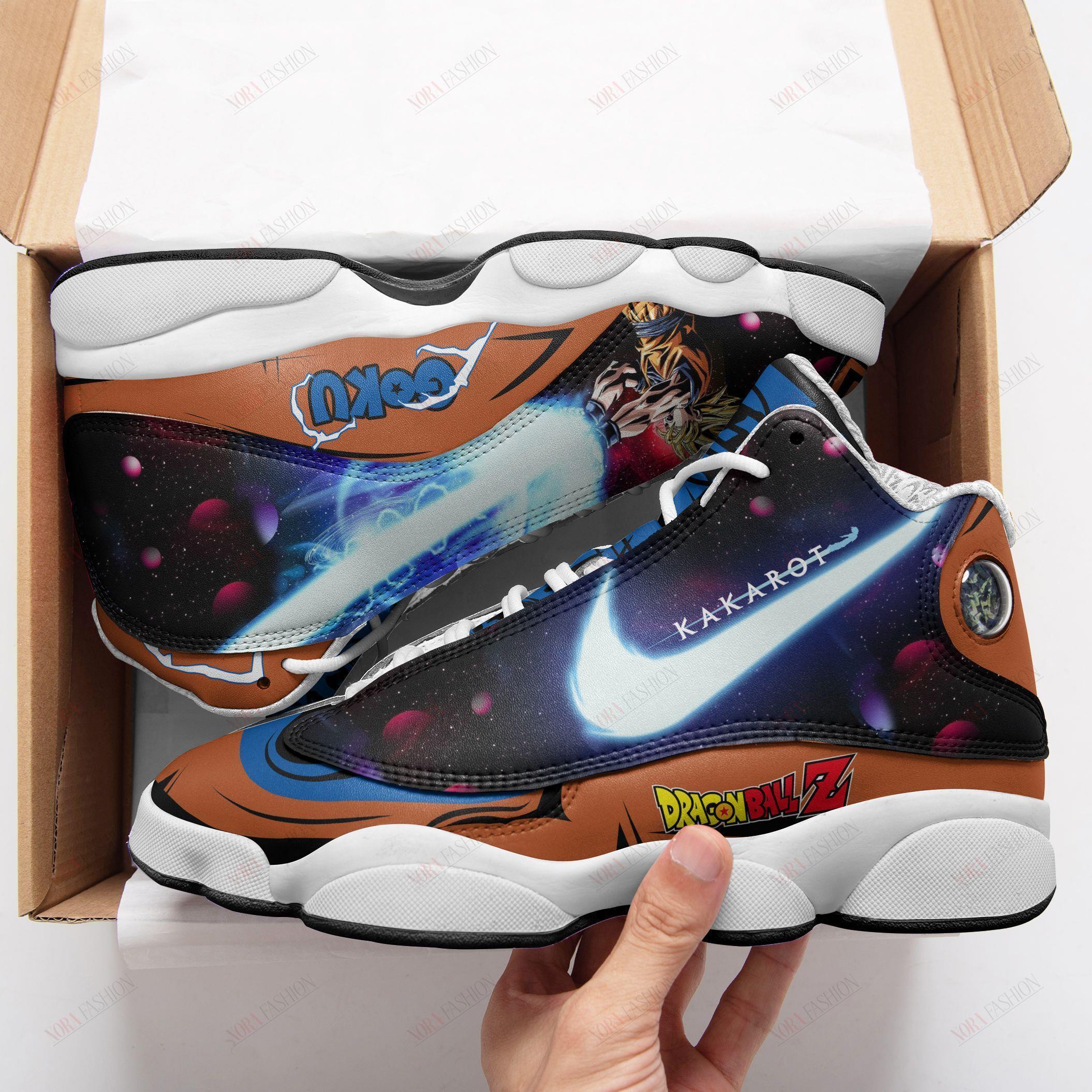 Goku Air Jordan 13 Sneakers Sport Shoes