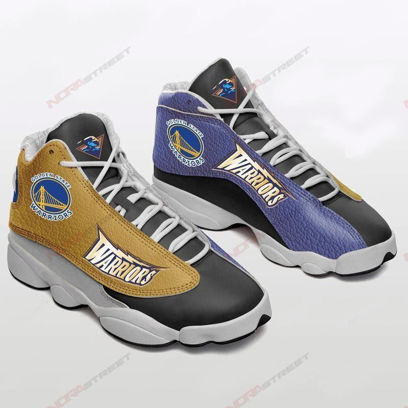 Golden State Warriors Air Jordan 13 Sneakers Sport Shoes