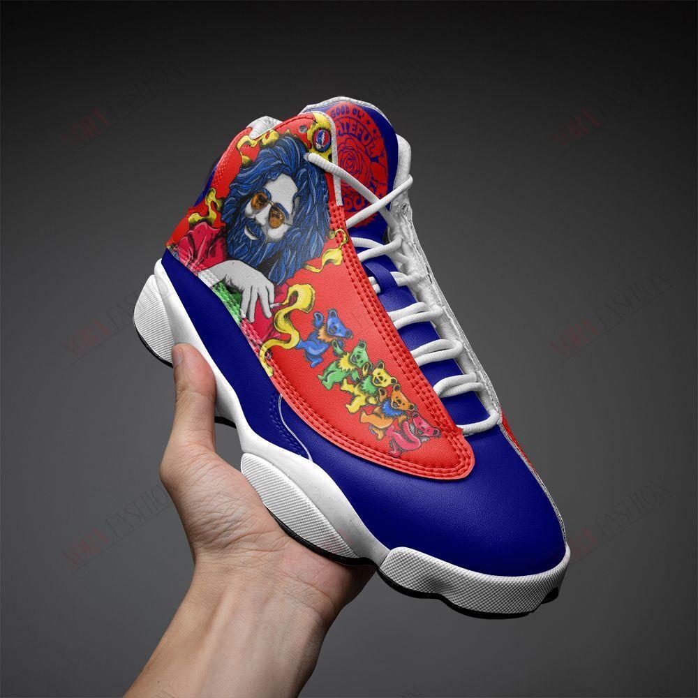 Grateful Dead Air Jordan 13 Sneakers Sport Shoes