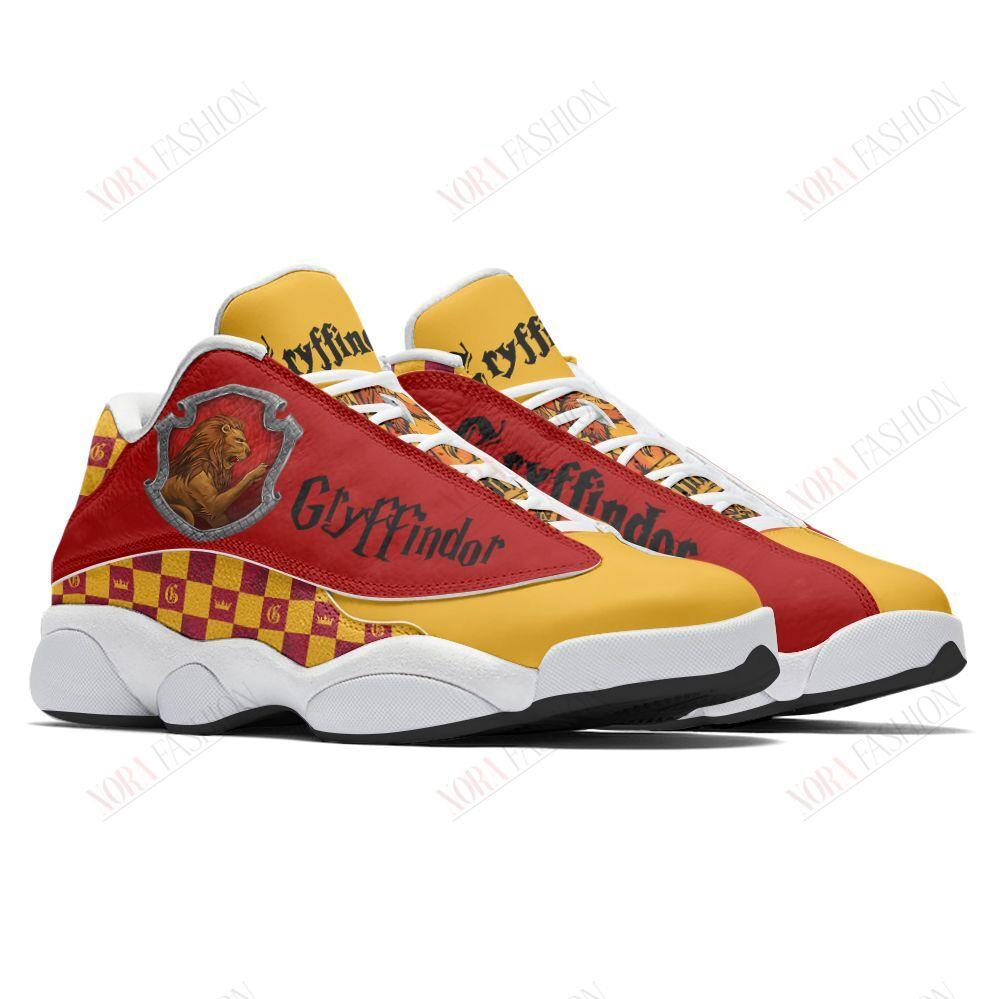 Gryffindor Air Jordan 13 Sneakers Sport Shoes Full Size
