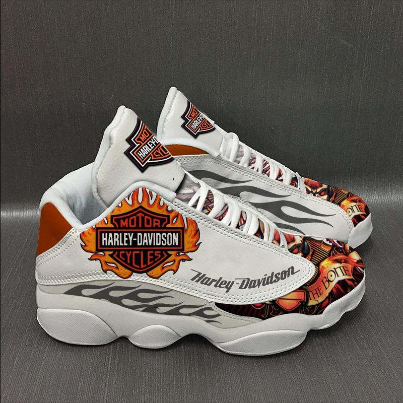 Harley Davidson Form Air Jordan 13 Sneakers Shoes Sport