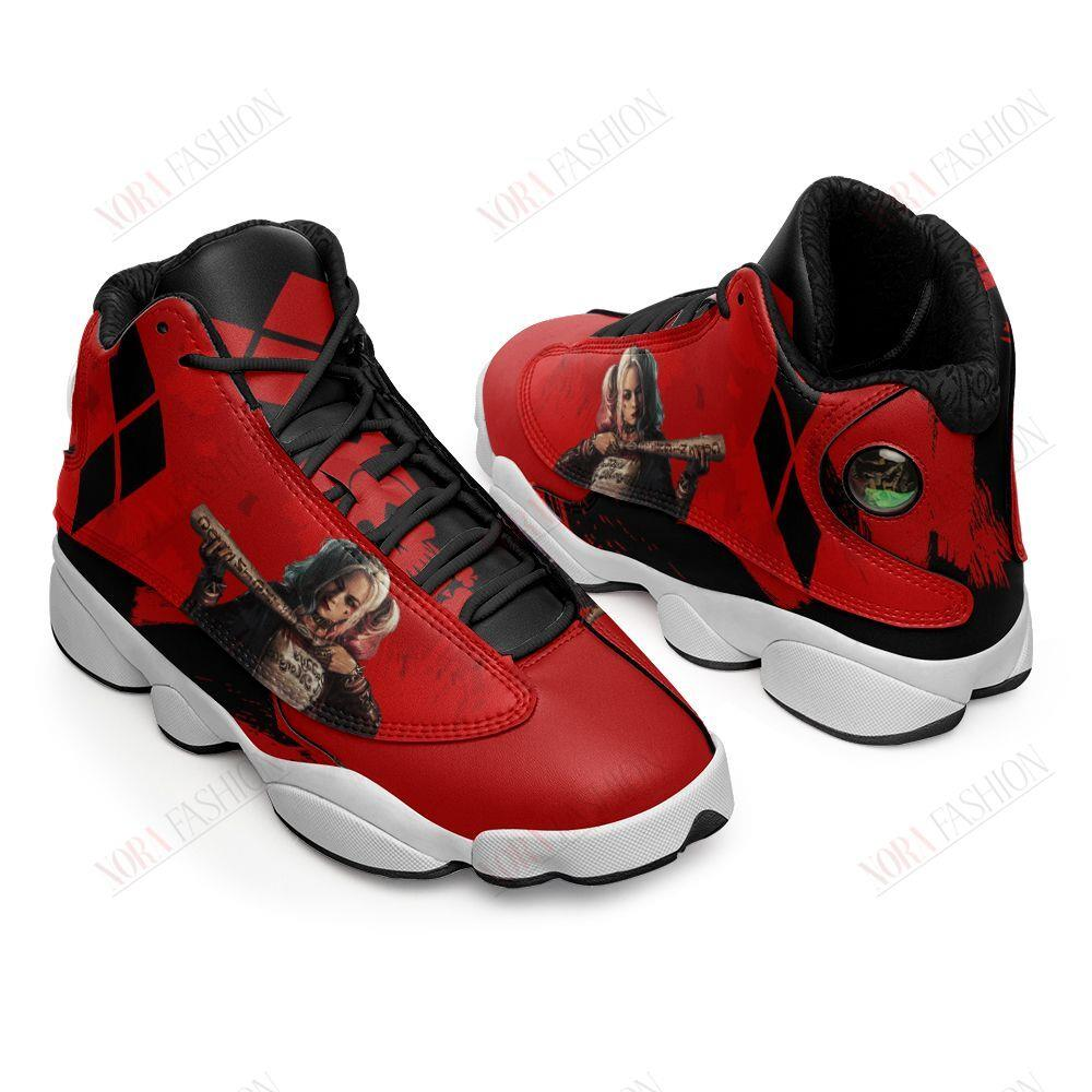 Harley Quinn Air Jordan 13 Sneakers Sport Shoes Full Size