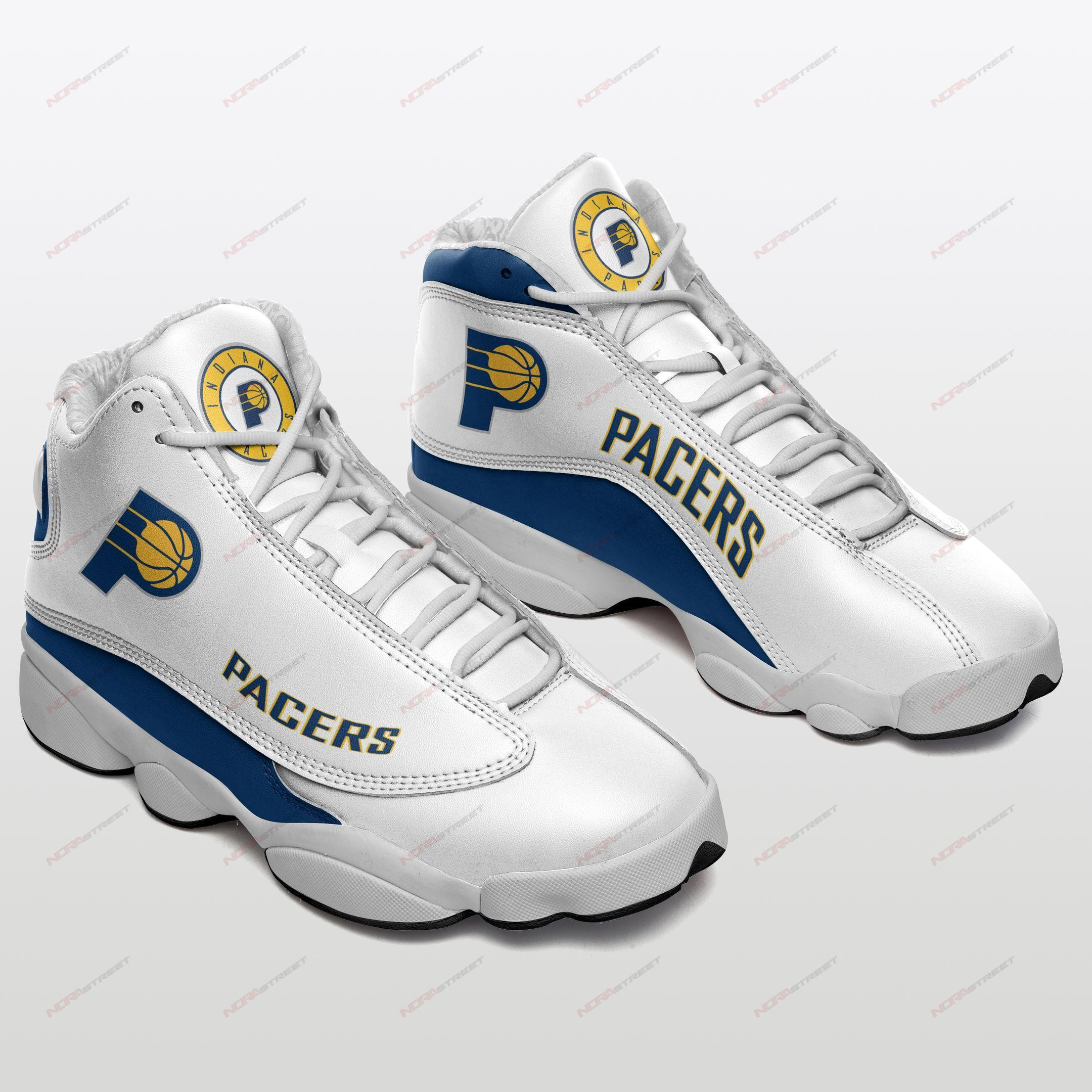 Indiana Pacers Air Jordan 13 Sneakers Sport Shoes