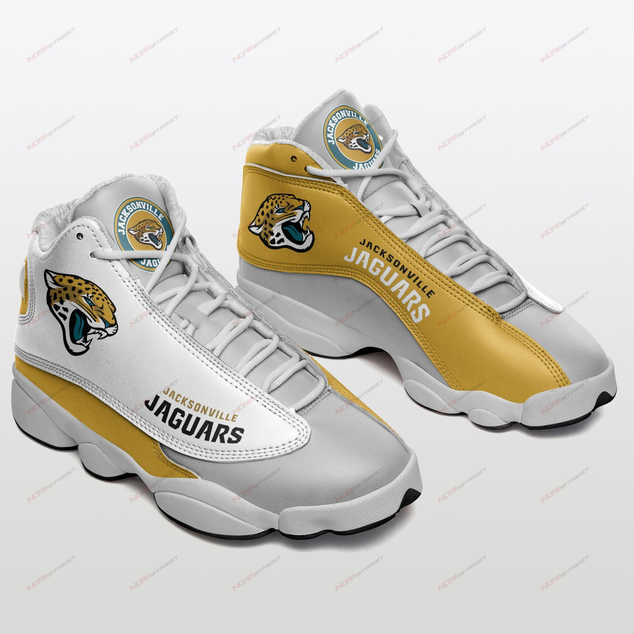 Jacksonville Jaguars Air Jordan 13 Sneakers Sport Shoes