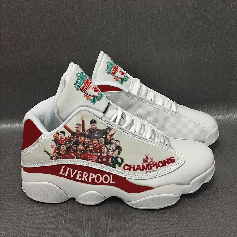 Liverpool Football Team Form Air Jordan 13 Sneakers Sport Shoes