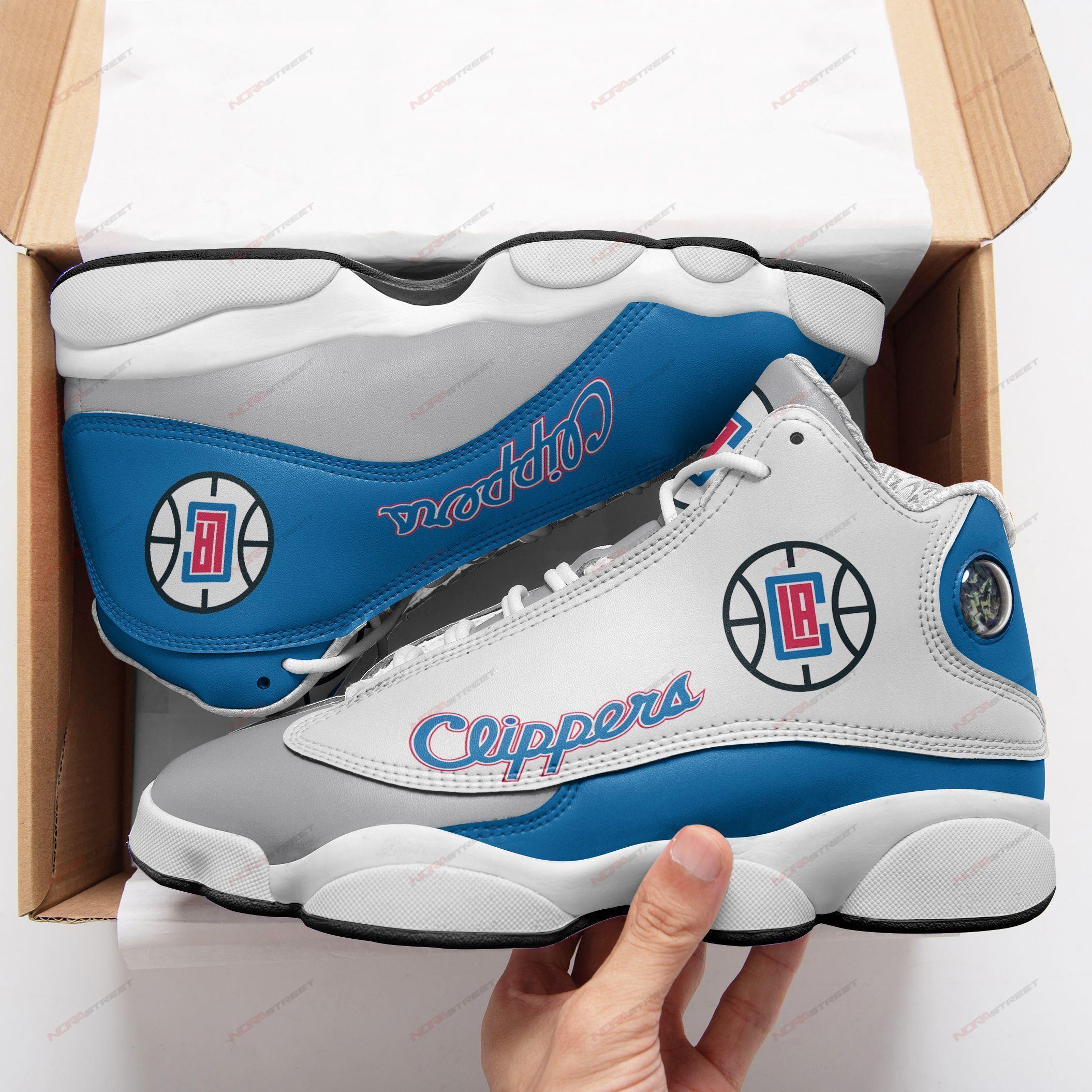 Los Angeles Clippers Air Jordan 13 Sneakers Sport Shoes Plus Size
