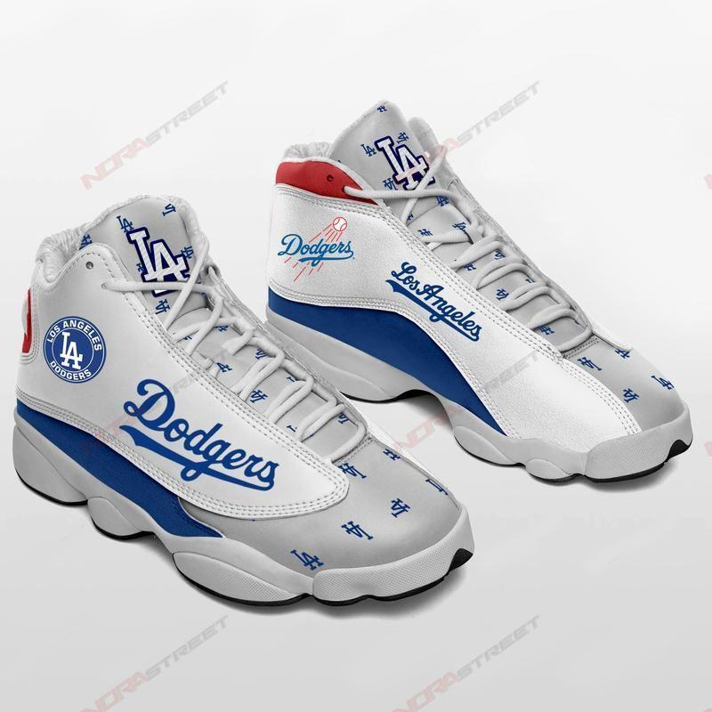 Los Angeles Dodgers Air Jordan 13 Sneakers Sport Shoes