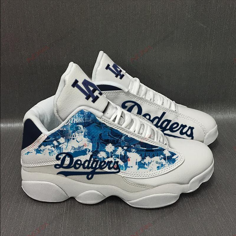 Los Angeles Dodgers Air Jordan 13 Sneakers Sport Shoes