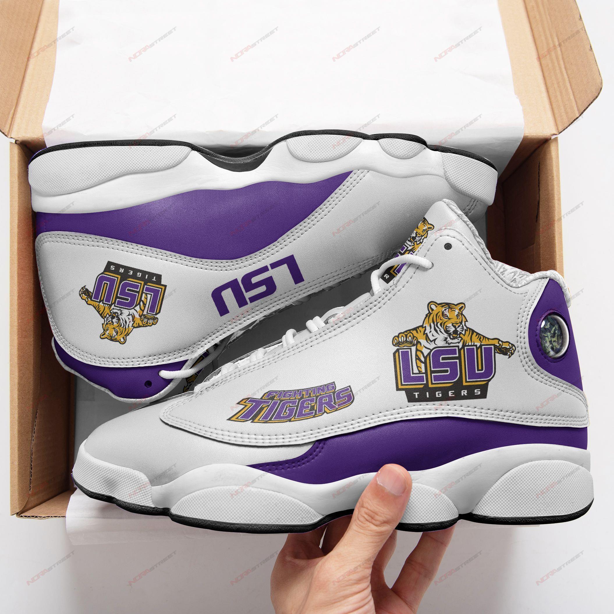Lsu Tigers Air Jordan 13 Sneakers Sport Shoes Full Size
